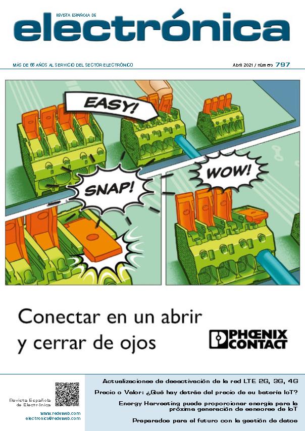 Revista de Electrónica Abril