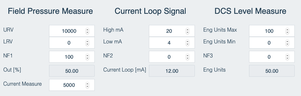 Simulador de Señal de Proceso - Configuración